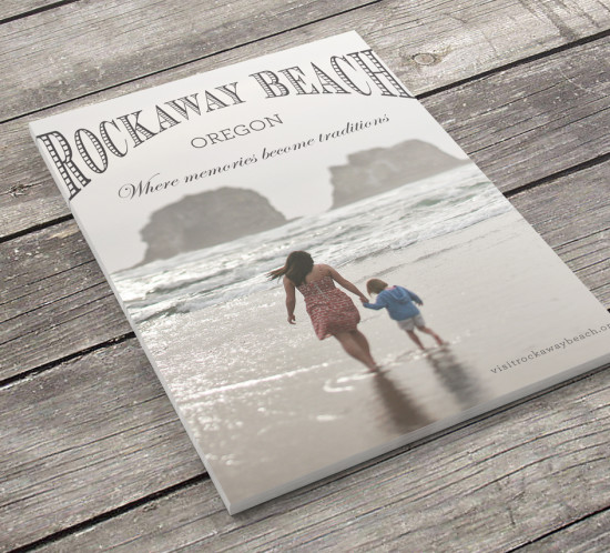 City of Rockaway Beach Oregon graphic design logo branding web design
