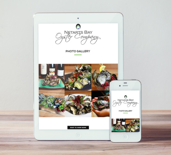 Netarts Oyster - Oregon web design