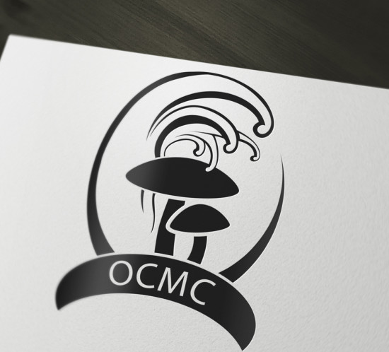 Oregon Coast Mushroom Company - Oregon logo design