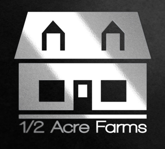 Half Acre Farms - Oregon logo design