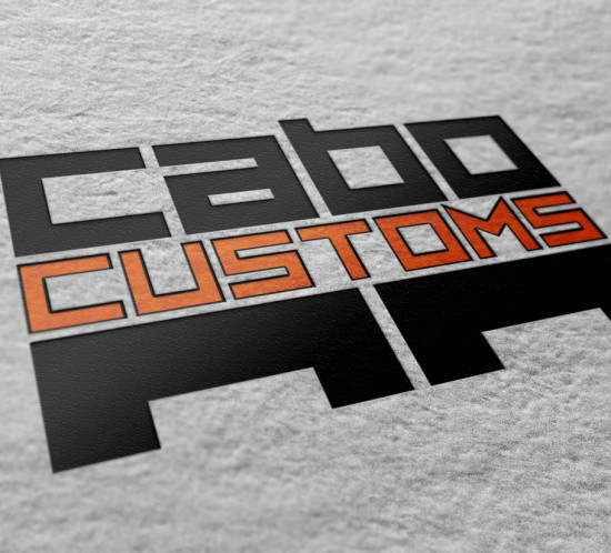 Cabo Customs - Oregon logo design