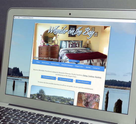 Wheeler On the Bay - Oregon web design