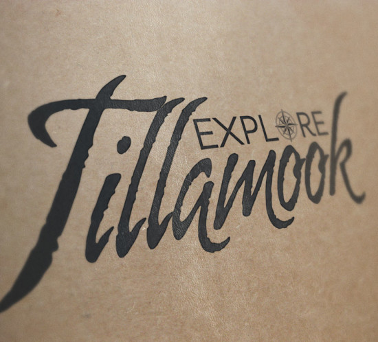 Explore Tillamook - Oregon logo design