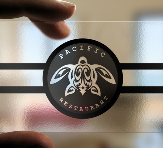 Pacific Restaurant - Oregon logo design