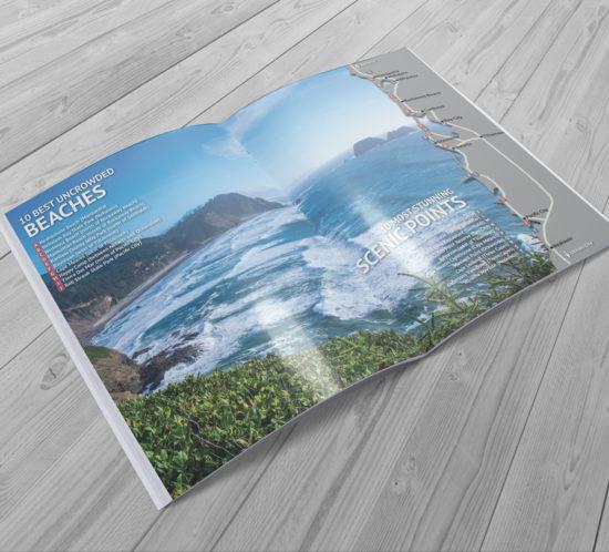 Oregon Tourism Graphic Design