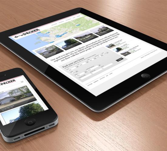 Decker Real Estate - Oregon web design