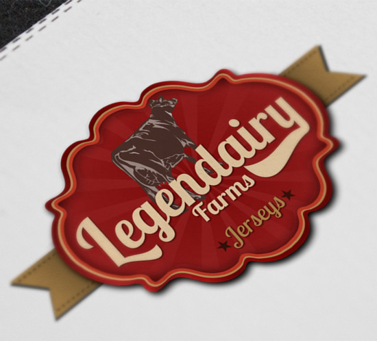 Legendairy Farms - Oregon logo design