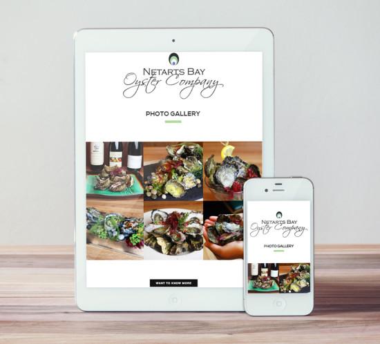 Netarts Oyster - Oregon web design