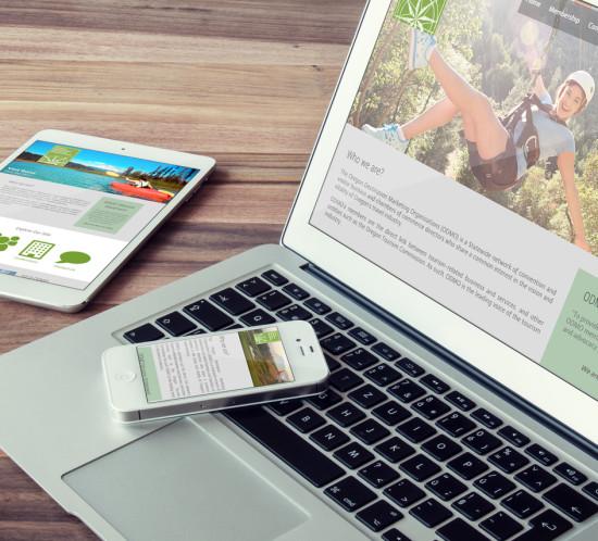 Oregon DMO - Oregon web design