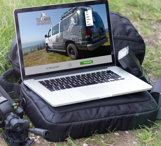 Tillamook Eco-Adventures - Oregon web design