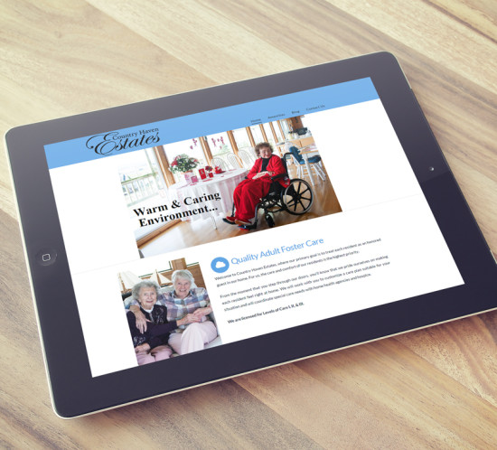 Country Haven Estates - Oregon web design