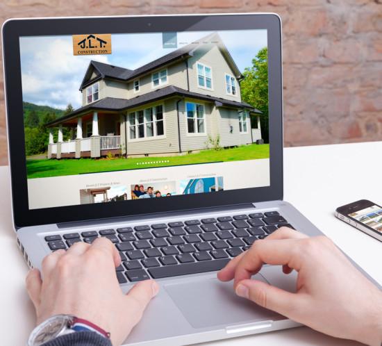 JLT Construction - Oregon web design