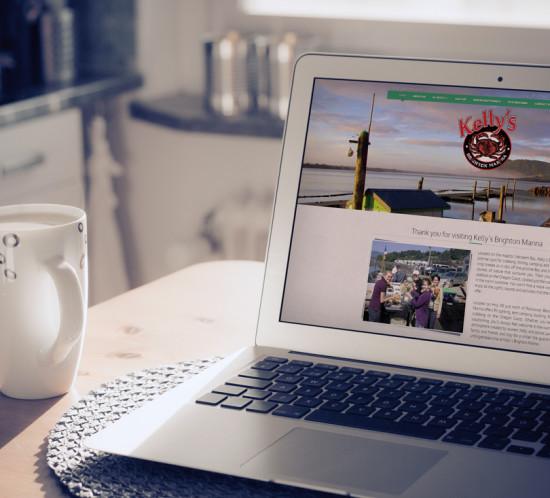 Kelly's Brighton Marina - Oregon web design