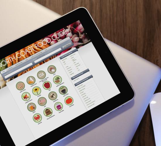 North Coast Food - Oregon web design