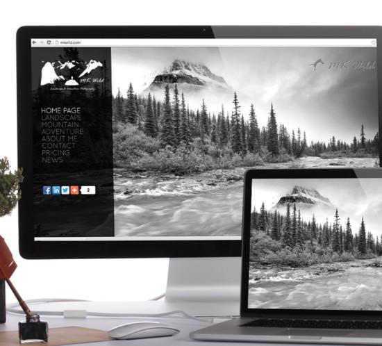 MK Wild - Oregon web design