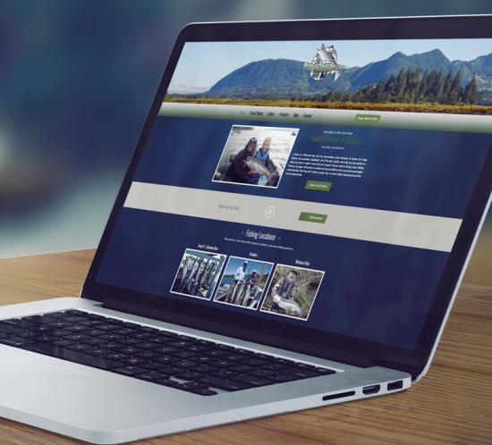 Pro Fish Guide - Oregon web design