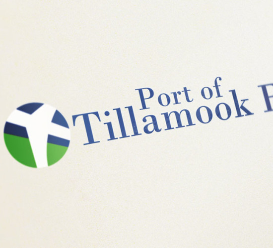 Port of Tillamook Bay - Oregon logo design