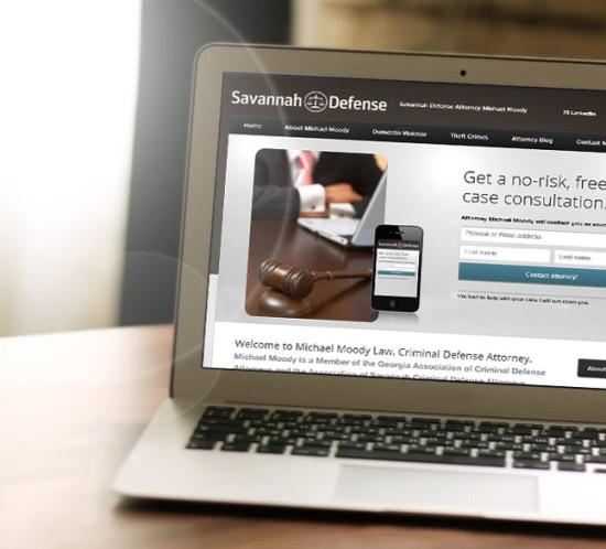 Savannah Defense Attorney - Oregon web-design