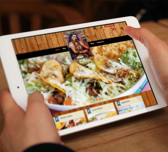 La Mexicana Restaurant - Oregon web design