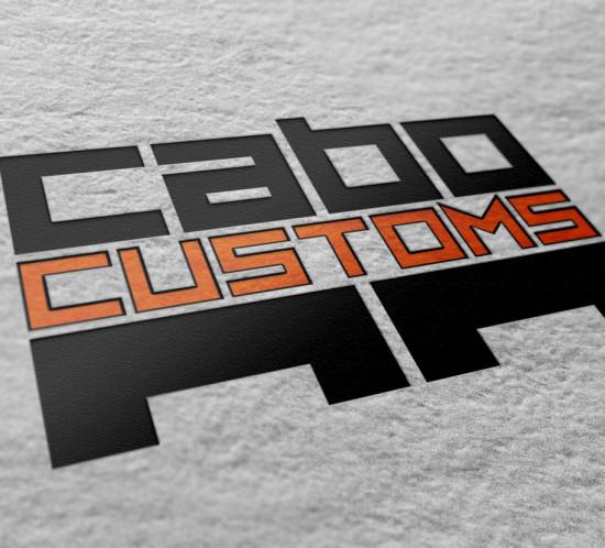 Cabo Customs - Oregon logo design