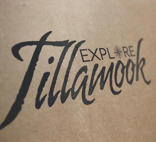Explore Tillamook - Oregon logo design