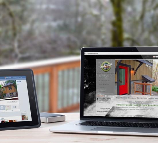 Trask River House - Oregon web design